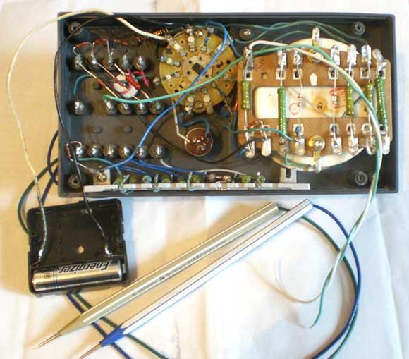 Измерительный прибор (тестер) Ц20, схема, ремонт