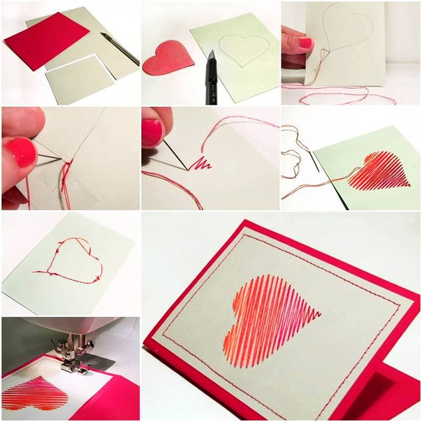Как сделать своими руками необычную открытку своими руками